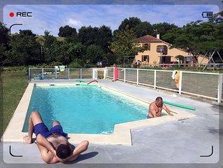 ... Demeure de Charme en Coeur de Gascogne, avec Jacuzzi & sauna