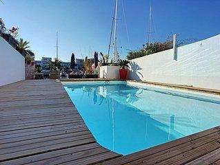 Exceptionnelle Marina 160 m2, appontement de 15M/5M
