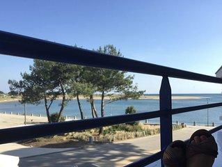 Appartement T2 Terrasse vue mer + Surf + Paddle