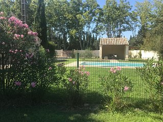Partie de mas près de saint Rémy de Provence