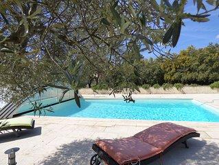 Villa avec piscine au ceour de la Provence Verte - Calme Absolu
