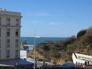Appartement avec parking au centre ville de Biarritz proche de la plage
