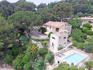 Villa avec piscine, Magnifique vue sur les iles, plages a 3km