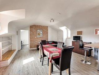 Le Ceour d'Amboise, appartement trois pieces, deux chambres en plein centre ville