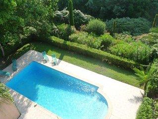 BEAU 3P CANNES CROIX DES GARDES au calme absolu résidence piscine