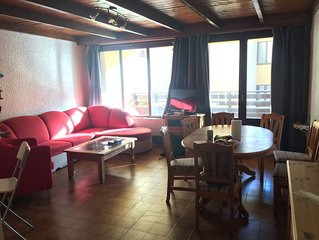 PRALOUP 1600 Appart 50m2 familial 7 pers + WIFI