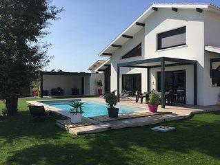 Maison contemporaine neuve a Capbreton