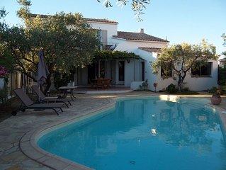 Gîte de Charme  8 km Montpellier, 20 km des plages,  piscine, jacuzzi en option