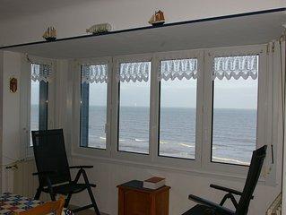 Appartement sur digue de mer