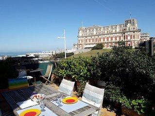 Emplacement exceptionnel à Biarritz