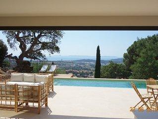 ☀️ Villa Design Vue MER Panoramique Piscine Climatisation