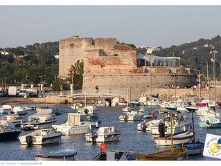 Maison 'La dernière Séance' au Mourillon (Toulon) 5 minutes à pied de la plage