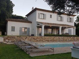 Magnifique villa aux portes de Saint-Tropez