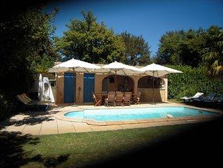 Villa 10/12 pers  piscine privee 8x4  et Pool House tout equipe