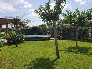 villa sud de France avec piscine