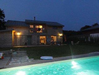Maison de vacances avec piscine a Beg-Meil