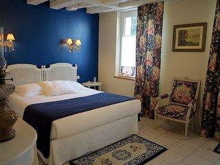 Le Clos Richelieu **** , belle demeure au coeur d' Amboise avec vue sur Chateau