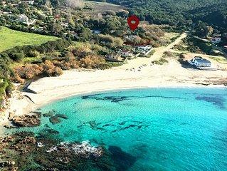 Villa Capo di Feno 2 mn a pied de la mer, 15 mn d'Ajaccio