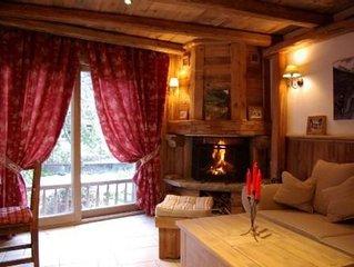 Petit chalet de charme en vieux bois ambiance montagnarde et chaleureuse garanti