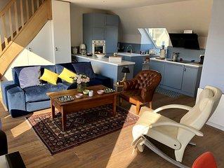 Superbe appartement luxueux vue Mer a 50 metres de la plage de Wimereux
