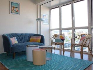 NOUVEAU-Bel appartement T2 à 50m plage - Piscine, Tennis - Proche gare, marché