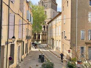 Appartement T1 centre historique de Beziers