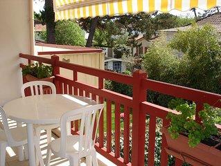 Coquet appartement T2   3 étoiles dans petite résidence calme,vue jardin