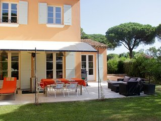 Maison de vacance a louer 4 chambres, 8 personnes sur Gassin/St-Tropez