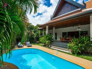 Romanee - villa 2 chambres au calme jardin piscine privee proche proche commerce
