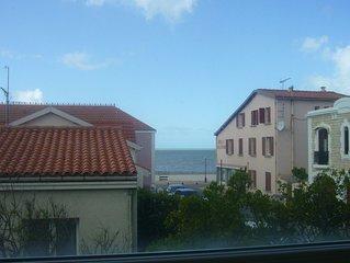 A 50 metre de la plage, tres jolie villa 2* renovee sur jardin clos et ombrage