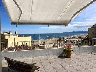 Appartement T3 vue imprenable sur mer et Pyrenees
