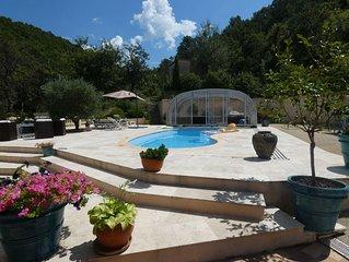bel appartement independant dans villa avec piscine au calme proche commodites