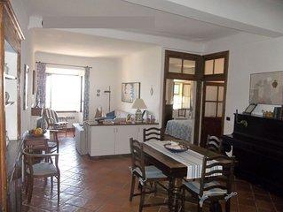 appartement 6 couchages, centre historique, vue mer, terrasse, wifi, clim