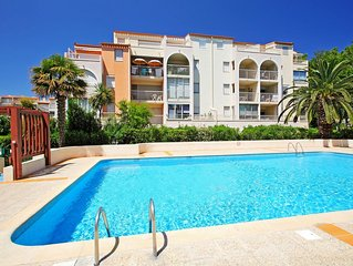 Appartement T3 cap d'agde location semaine - we