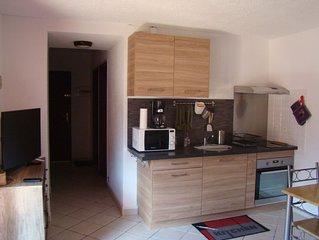 Studio T1 bis 31 m². VERNET LES BAINS 66820. Au calme; proche centre ville;