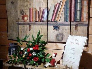 SARLAT Atelier d'Artistes equipe en Gite  Esprit Vintage -  Labellise 3 Cles