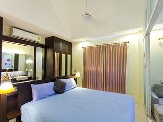 Volnay villa - 1 chambre avec Piscine Privee - bon marche et confortable pour 2