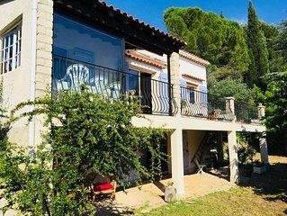 Maison de campagne  vue panoramique à 5km des plages de bandol et du castellet