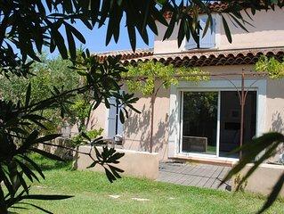 Maison avec jardin plage 200m au calme Mar Vivo La Verne La Seyne sur mer