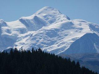 chalet d'alpage authentique a Praz de lys sommand sur les Pistes De Ski