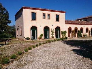 Spacieuse et confortable villa provençale en pleine campagne