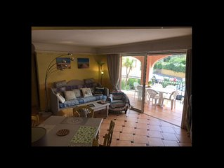 appartement   55M 2 / 7 couchages / 200 m plage / piscine dans residence