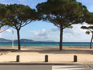 T2 calme 50 m  plage La Ciotat grande terrasse, climatise,ascenseur