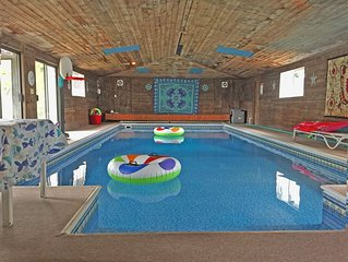 Fully Stocked Indoor Pool Home