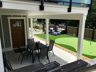 Modern Brand New 2 BR Suite w King Bed & Golf Green Near Ocean - 15 min drive
