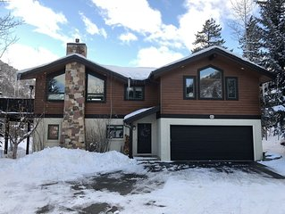 Beautiful Chalet in East Vail, next to Vail bus stop; hot tub and amazing view!