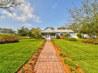 Charming Historical Cottage in Eau Gallie Art District