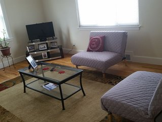Neat, Clean 3 Bdr Apt, Near MBTA, Park  & Trail