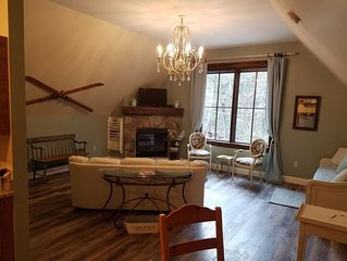 Enchanted Elegance near Deep Creek Lake & Wisp! Fireplace! Meadow & Forest View!