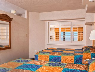 1 Bedroom Suite w/ Oceanfront Balcony + Official On-Site Rental Privileges
